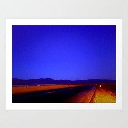 Colors of Night Art Print