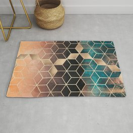 Ombre Dream Cubes Rug