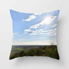 panorama / landscape Throw Pillow