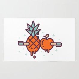 Pen-Pineapple-Apple-Pen Rug