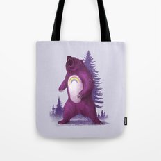 Scare Bear Tote Bag