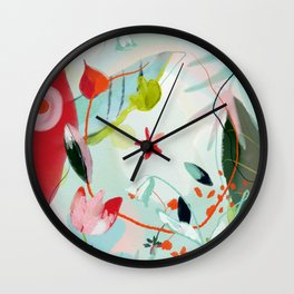 my summer garden Wall Clock