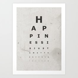 Happiness (1) Art Print