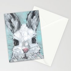 Bunny on Blue Stationery Cards