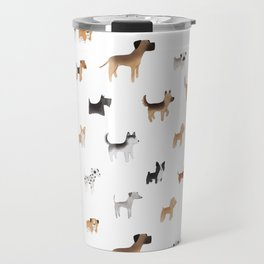 Lots of Cute Doggos Travel Mug