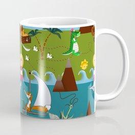 Nautical kids dream Coffee Mug