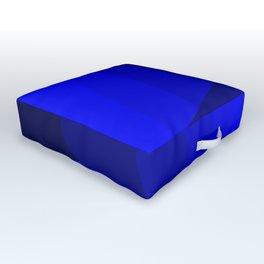 Just Blue #decor #society6 #buyart Outdoor Floor Cushion