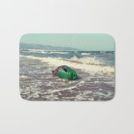the green buoy Bath Mat