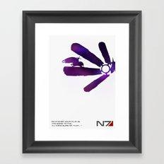 Mass Effect 1 Framed Art Print