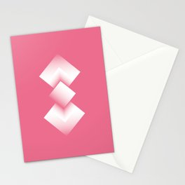 pink energy tower Stationery Cards