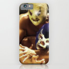 Two Wrestling fighters iPhone Case