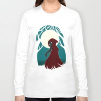 red hood Long Sleeve T-shirts featuring Red Riding Hood 2 by Freeminds