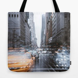 Streets as grey as my mood Tote Bag
