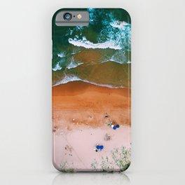 Vintage Beach Aerial iPhone Case
