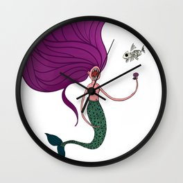 ManEater Revised Wall Clock