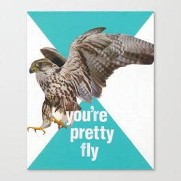 You're Pretty Fly Canvas Print