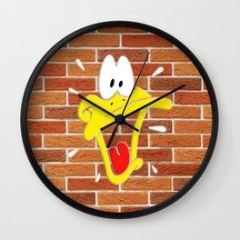 Donald Duck Shocking Face Wall Clock