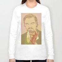 calvin Long Sleeve T-shirts featuring CALVIN CANDIE by Itxaso Beistegui Illustrations