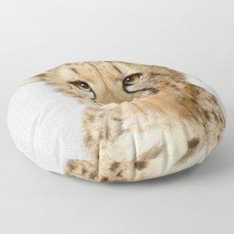 Cheetah - Colorful Floor Pillow