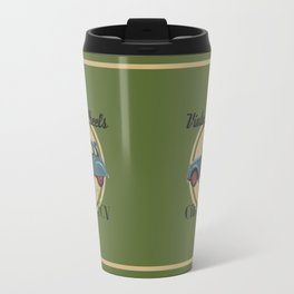 Vintage Wheels: Citroën 2CV Travel Mug
