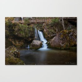 Cascada at Lower Austria Canvas Print