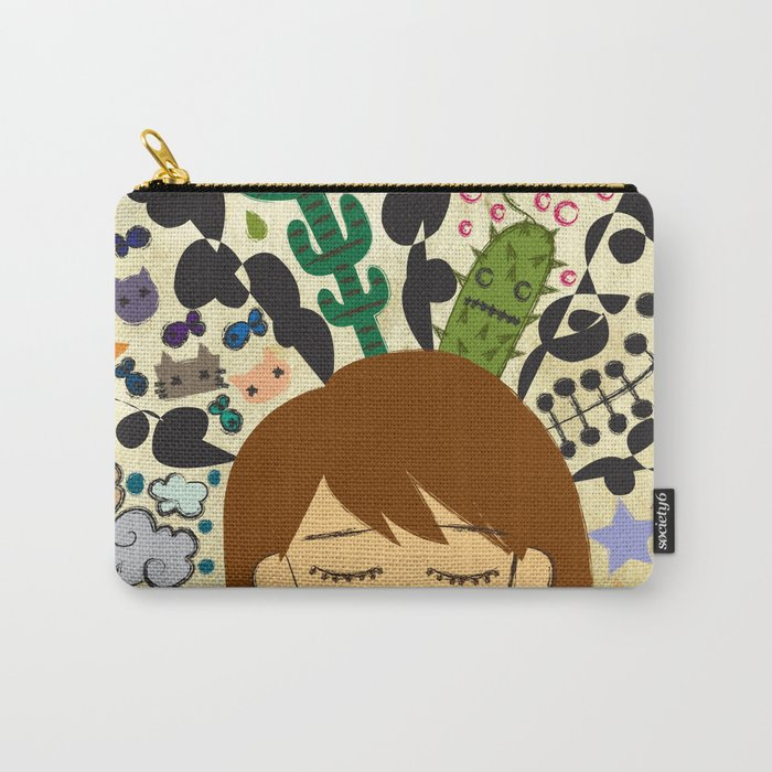 A Mind of a Dork Carry-All Pouch