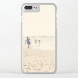 surfing life II Clear iPhone Case