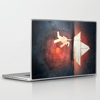 diver Laptop & iPad Skins featuring Ocean Diver by Gelrev Ongbico