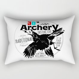Traditional Instinctive Archery Rectangular Pillow