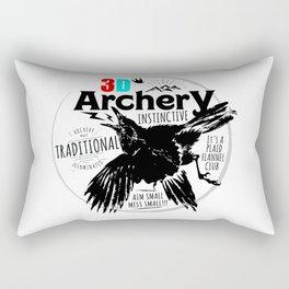 Traditional Instinctive Archery Rectangular Pillow