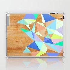 Wooden Geo Aqua Laptop & iPad Skin