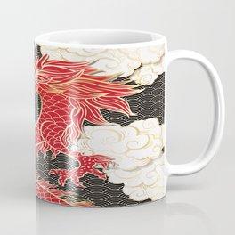 Chinese Red Dragon Coffee Mug