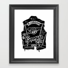 GOONERS FC Framed Art Print