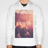 dream catcher Hoodies featuring Dream Catcher by Whitney Retter