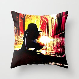 The Shadow Cleaner Throw Pillow