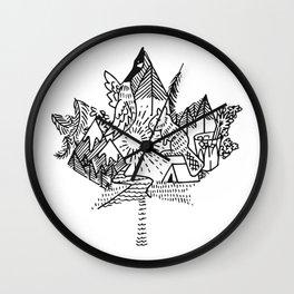 My Canada Wall Clock