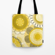Look at the shining flowers!!! Tote Bag