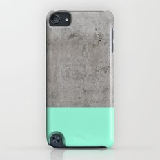 Sea on Concrete Slim Case iPod touch