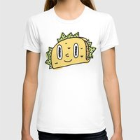 taco T-shirts featuring Taco Buddy by Frenemy