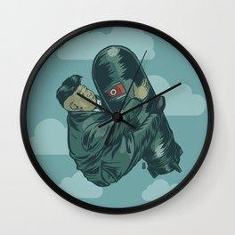 H-Bomb Kim Wall Clock