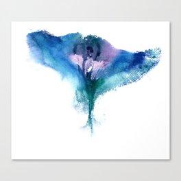 Isabella's Vulva Flower Canvas Print