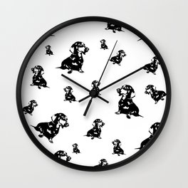 Dachshund Dog, Wiener Dog, Sausage Dog, Doxie, Daxie, Wall Clock