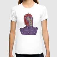 magneto T-shirts featuring Magneto by Matthew Bartlett
