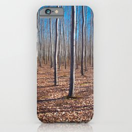 Lost but Happy Experimental Forest Oregon iPhone Case