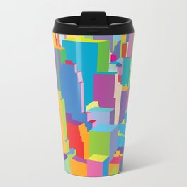 Cityscape Metal Travel Mug