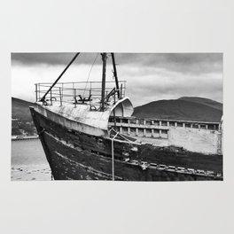 Highland Shipwreck - b/w Rug