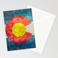 Colorado State flag - Vintage retro style Stationery Cards