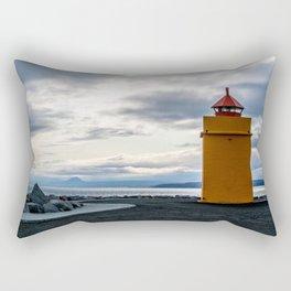 Lighthouse at the Point Rectangular Pillow