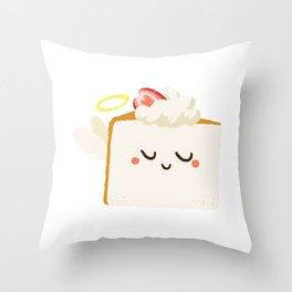 Baby Cakes - Angel Food Cake Throw Pillow