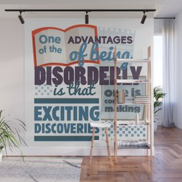 Disorderly Wall Mural
